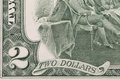 Close up of dollar bill whole background Royalty Free Stock Photo