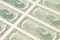 Close up of dollar bills whole background Stock Photos