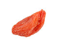Close-up of on dried goji berry Royalty Free Stock Photo