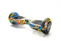Close up of dual wheel self balancing electric skateboard smart scooter on white background bucharest romania march editorial Stock Image