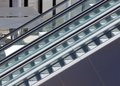 Close up escalator any occupant Royalty Free Stock Photography