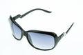 Close up of eye glasses isolated on white background Royalty Free Stock Photo