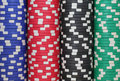 Casino Chips Background Royalty Free Stock Photo