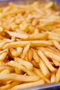 Close up french fried potato a group of Royalty Free Stock Photos