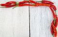 Close up fresh chili peppers Royalty Free Stock Photo