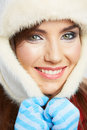 Close up girl face beauty portrait female young model beautiful woman style Stock Photography