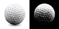A close-up of a golf ball Stock Photography