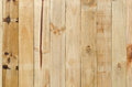 Close up of gray wooden fence panels Royalty Free Stock Photo