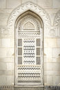 Close up groot sultan qaboos mosque Stock Afbeeldingen