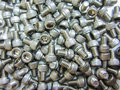 Close up group of bolt and nut Royalty Free Stock Photo