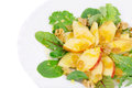 Close up of healthy salad whole background Royalty Free Stock Images