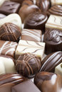 Close-up of high quality chocolate Stock Photography