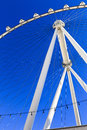 Close-up of The High Roller Wheel