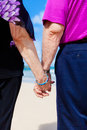 Close-up Holding Hands Royalty Free Stock Photo