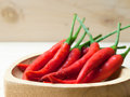 Close up Hot chili peppers. Royalty Free Stock Photo