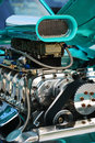 Close-up of Hotrod Engine Stock Photography