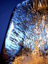 Close-up of ice. Royalty Free Stock Image