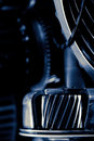Close up image automobile gear assembly Royalty Free Stock Images