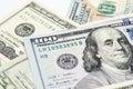 Close up image of money,$100 & $20 bills Royalty Free Stock Photo