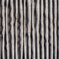 Close up inside of dirty air filter old and car conditioner Stock Images
