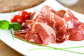 Close up of italian coppa Royalty Free Stock Photos