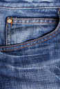 Close up of a jeans Royalty Free Stock Photography