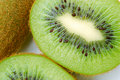 Close up of  kiwi fruit Stock Photography