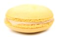 Close up of macaron cake isolated on a white background Royalty Free Stock Image