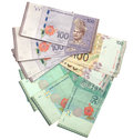 Close up malaysia ringgit money Royalty Free Stock Image