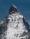 Close-up of Matterhorn peak Stock Photography