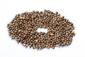 Close up of mustard seeds Royalty Free Stock Photo