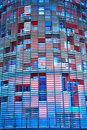 Close-up of new skyscraper Torre Agbar Royalty Free Stock Photo