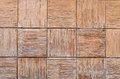 Close up of old gray wooden fence panels Royalty Free Stock Photo
