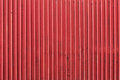 Close up of old painted metal ribbed surface Royalty Free Stock Photo