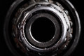Close up of the old roller bearing Royalty Free Stock Photography