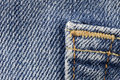 Close up onto denim Royalty Free Stock Photo