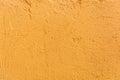 close up orange wall crack