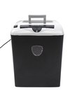 Close up of paper shredder. Royalty Free Stock Photos