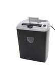 Close up of paper shredder isolated on a white background Royalty Free Stock Photo