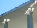 Close-up of part of New German Government building Royalty Free Stock Photo