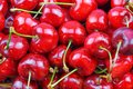 stock image of  Close-up of a pile of fresh cherries