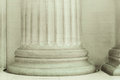 Close up of a pillar showing details and architecture Royalty Free Stock Images