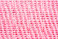 Close-up pink  fabric textile texture Stock Photos