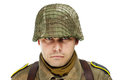 Close up portrait of soldier Royalty Free Stock Image