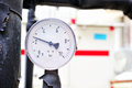 Close up pressure manometer Stock Photography