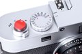 Close up of rangefinder camera closeup picture classic Stock Image