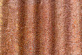 Close up rust stains on galvanized iron sheet Royalty Free Stock Photos