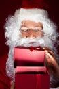 Close-up Of Santa Looking In G...