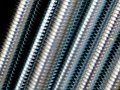 Close up of screw thread Stock Photo
