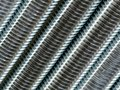 Close up of screw thread Stock Photos